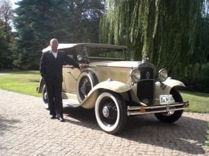 oldtimer chauffeur