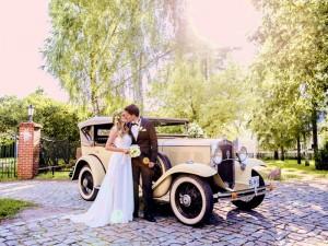 Oldtimer Hochzeitsfotos